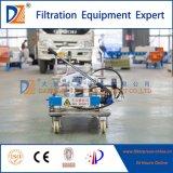 Funcionamiento manual móvil Filtro de membrana de la máquina de prensa