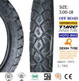El africano de la motocicleta del neumático del camino parte el neumático 3.00-18 de la motocicleta del neumático de la motocicleta de la moto