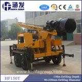 Matériel Drilling de l'eau à vendre la plate-forme de forage de puits d'eau Hf150t