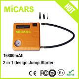 Mini dispositivo d'avviamento di salto della batteria multifunzionale universale 16800mAh