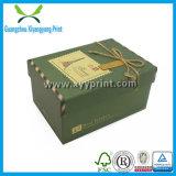 Rectángulo de papel de la cartulina de lujo de encargo para el regalo con alta calidad
