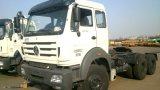 De Vrachtwagen van de Tractor van Beiben 2017 van de Technologie van Benz van Mercedes 6X4 voor de Markt van de Kongo Tanzania
