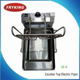 La commande de température en acier inoxydable friteuse Générale Électrique
