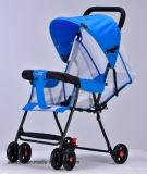 2017 dobra leve Europeu carrinho de bebé e o bebê Pram 3 em 1