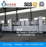 Esteira da bobina do revestimento protetor da espuma do PVC que faz a máquina/PVC a máquina dobro da produção da esteira do pé da bobina da cor