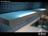 2015 het Hete het Verkopen Welbom Ontwerp van de Keuken van het Vernisje van het Eiken Hout