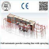 Revestimiento en polvo de alta eficiencia de la máquina en la línea de revestimiento en polvo