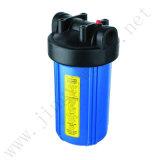 10 pouces bleu Jumbo Post en ligne du carter de filtre à eau