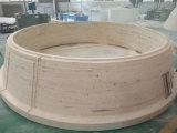 Grande molde de carcaça de madeira