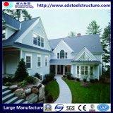 Diseño moderno, casas de estructura de acero de bajo coste