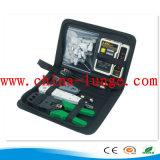 La terminación de fibra óptica Kit, herramienta de red óptica Kit