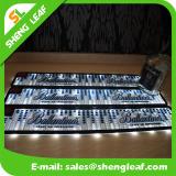 Stuoia di gomma della barra del PVC del regalo promozionale LED