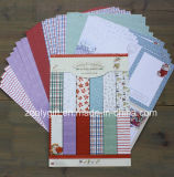 Paquete de papel A4 recortado con dibujos de Navidad