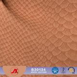 최신 판매 형식 고품질 합성 가죽 뱀 패턴