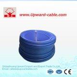 Flama do incêndio - fio elétrico do PVC do retardador
