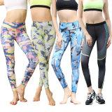 Vente en gros Sexy Printing Fitness Gym Legging Pantalon de yoga pour femme