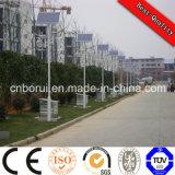 태양 가로등 정가표, 최신 판매 백색 폴란드 8m 50W 옥외 LED 태양 가로등
