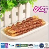 Bastone popolare del pellame greggio dell'involucro del pollo di Odog per gli ossequi del cane