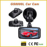 Car Black Box GS8000L Vídeo do veículo Recorder Night Video