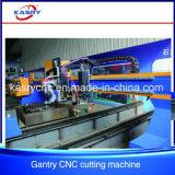 Machine taillante de découpage de plasma de commande numérique par ordinateur de tôle de plaque d'acier inoxydable de portique de découpage de précision