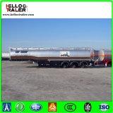 Tri acero de carbón del árbol 60000 litros de gasolina del depósito de acoplado semi