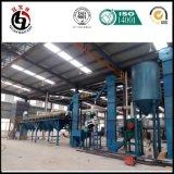 Maquinaria nova do projeto 2017 para a produção de carbono ativado