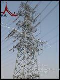 Передающая линия трубчатая башня силы
