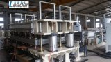 Heiße verkaufenpolycarbonat Multiwall hohle Blatt-Dach-Blatt-Strangpresßling-Zeile