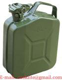 Dieseltreibstoff Jerry kann NATO-Art-Benzin-Kraftstoff-Behälter-Metall-Gasbecken