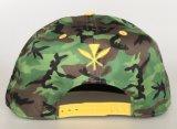 Casquillo al por mayor bordado 3D del Snapback de los sombreros de la aduana