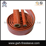 De Oppervlakte SAE 100 van de Doek van de Koker van de brand R1at Slang Van uitstekende kwaliteit van de Draad van het Staal de Gevlechte Hydraulische Rubber