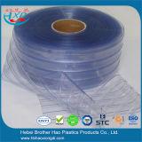 Het industriële Koude Gordijn van de Deur van de Strook van pvc van de Controle van het Stof van het Kristal Plastic