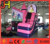 La Princesa de alta calidad de la casa de rebote de la casa de rebote de la Princesa inflables