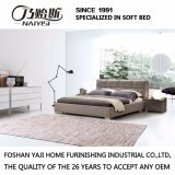 方法ダブル・ベッドデザイン現代寝室の家具の革ベッド(G7003)