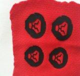 La insignia, caucho al por mayor de Industrila del traspaso térmico etiqueta la etiqueta engomada del traspaso térmico de los accesorios
