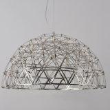 Luz de suspensão do Semi-Circle moderno da luz do pendente do aço inoxidável