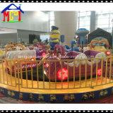 Manège Minion Amusement Ride for Family Fun hélicoptère