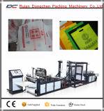 Máquina automática não fabricada de sacos planos de compras de tecido (DC-HB)
