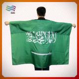 Выдвиженческий флаг плащи-накидк тела полиэфира для игры спортов (HYFC-AF010)