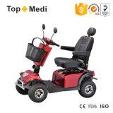 Topmedi weg von Straßen-behindertem elektrischem Mobilitäts-Roller mit Furnierholz-Korb