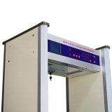 caminhada da tela de 8/10zones grande LCD através do detetor de metais Jkdm-800A