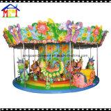 Carrusel del caballo de Roudabout del paseo del Kiddie del parque de atracciones de 12 asientos