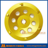 Ранг четверти колеса чашки диаманта PCD меля круглая высшая