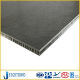 Черная каменная мраморный алюминиевая панель сота для строительных материалов