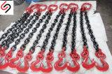 T (8)の2足の安全ホックの持ち上がるチェーン吊り鎖の直径8