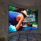 Изогнутый Rental полного цвета P8/P10/P3.91/P4.81 конструкции/исправил крытая/напольная стена/панель/знак/афиша/индикация СИД видео- для выставки, этапа, конференции, рекламируя