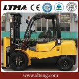 Carretilla elevadora diesel del precio de fábrica de Ltma 3t con color amarillo