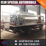 camion-citerne de la distribution de bitume d'allumeur d'asphalte d'écarteur de bitume de 3ton 4ton