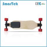 Pattino di legno elettrico Gyropode delle nuove rotelle dell'azionamento 4 di Smartek con la scheda Elettrico-Mini-Lunga S2a di telecomando