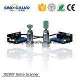 Ce/RoHSの証明のレーザーの彫版機械Js2807スキャンナーレーザーヘッド